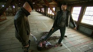 Zombie Combat with Michael Rooker   MythBusters