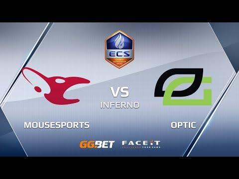 mousesports vs OpTic, inferno, ECS Season 6 Europe