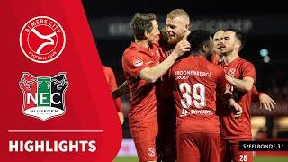 Samenvatting Almere City FC - N.E.C. (02-04-2021)