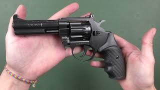 Револьвер Safari РФ 441 М пластик от компании CO2 - магазин оружия без разрешения - видео 2