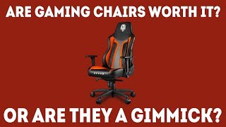 Problems with Racing Gaming Chairs - Is A Gaming Chair Worth It? [Simple Guide]