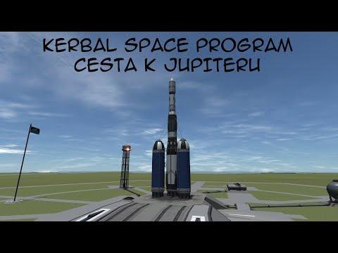 Cesta k Jupiteru - Kerbal Space Program | Mafiapau | CZ/SK Livestream