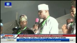Fintiri Emerges PDP Candidate For October 11 Adamawa Election