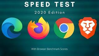 Edge Vs Chrome Vs Firefox Vs Brave Speed Test | 2020 Edition