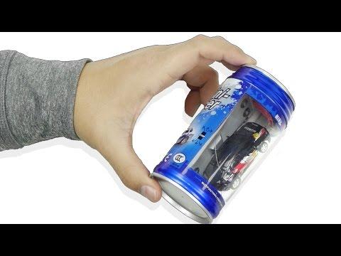Mini RC Car in a Can