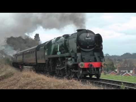 The Severn Valley Railway Spring Steam Gala 17th March 2017
