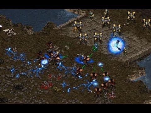P - Beast (Z) v Rain (P) on Fighting Spirit - StarCraft  - Brood War REMASTERED
