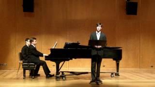 Schubert - Selections from Schwanengesang (part 2) (Jonathan Harris, Kirill Kuzmin)