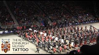 Edinburgh Tattoo 2014 - The Lone Piper + Finale