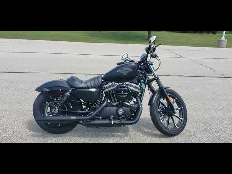 2018 Harley-Davidson Sportster Iron 883 in Big Bend, Wisconsin - Video 1
