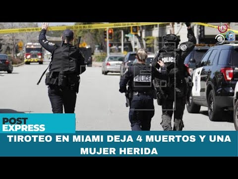 Tiroteo En Miami Deja 4 Muertos Y Una Mujer Herida
