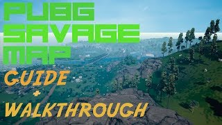 *NEW* PUBG MAP- Savage Brief BEGINNER Guide (Gameplay+Tips) + HOW TO GET KEYS - Video Youtube