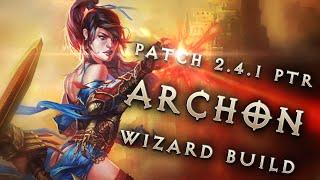 Diablo 3 2.4.1 Wizard Build: Vyr's Archon GR 100+ (PTR, Season 6)