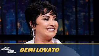 Demi Lovato Believes Meditation Helps with Contacting Aliens