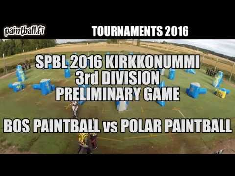 BOS Paintball vs Polar Paintball - SPBL2016 Kirkkonummi