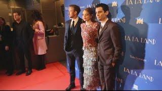 La La Land  Emma Stone Et Ryan Gosling Enchantent Paris