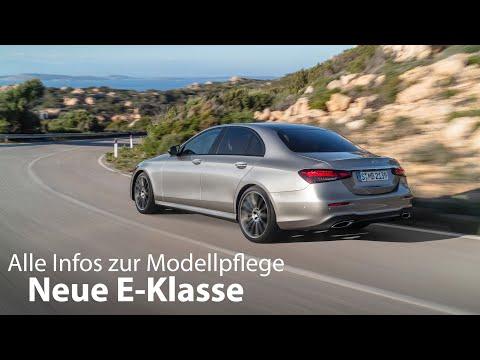 Die neue E-Klasse: alle Infos zur Modellpflege der BR 213 (GIMS 2020) [4K] - Autophorie