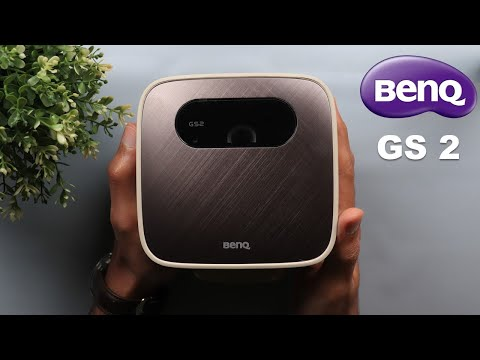 BenQ GS 2 Review - All-In-One Portable Projector.