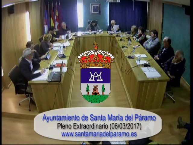 Pleno Ordinario 06/03/2017