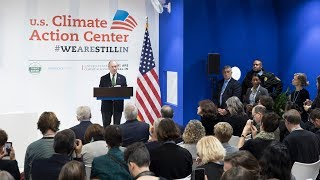 Mike Bloomberg Delivers America's Pledge at COP25