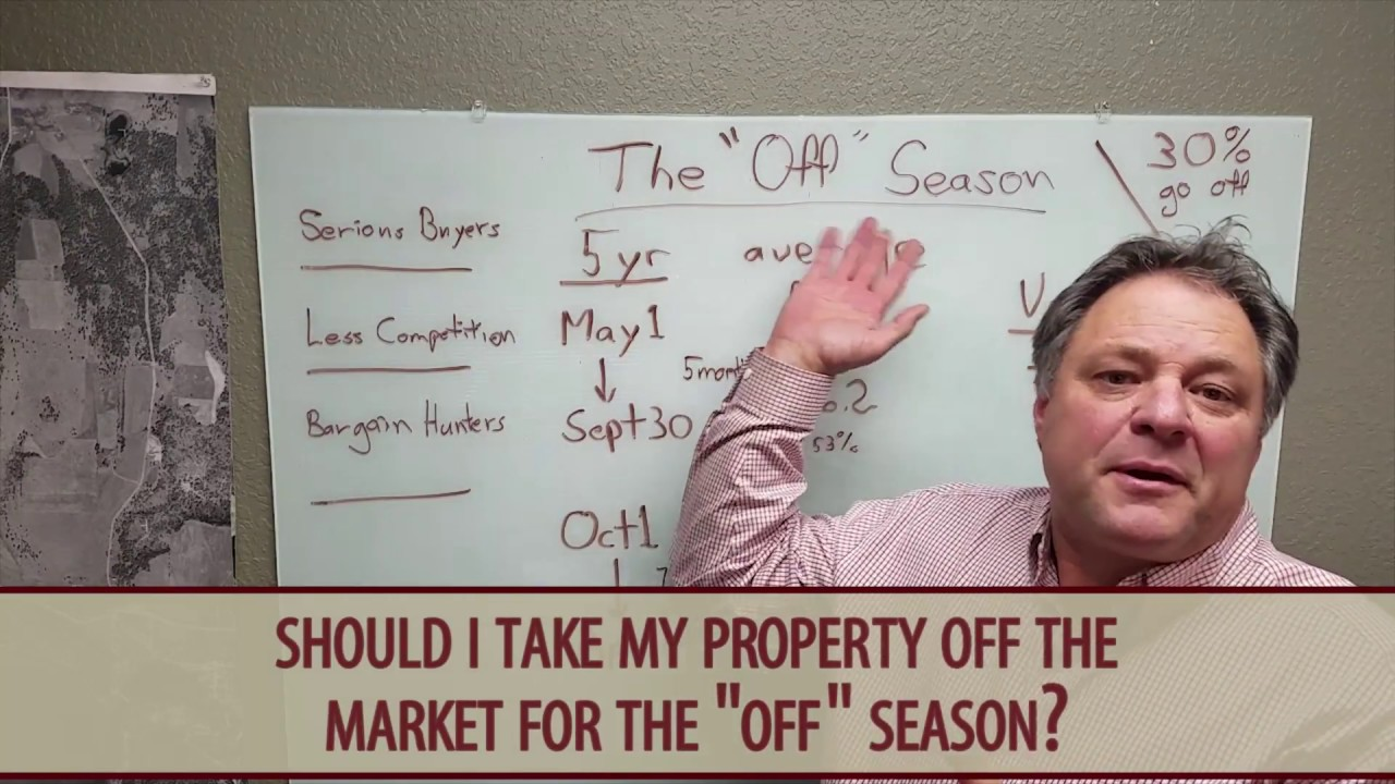 Does Listing Your Home During the Off-Season Make Sense?
