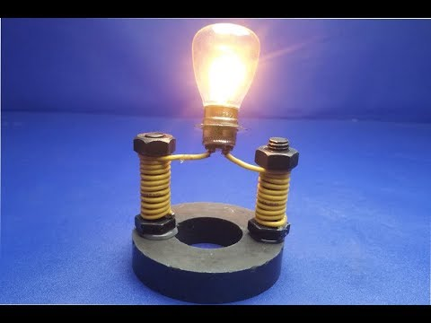 Free energy generator 100% electric new technology - experiment 2019