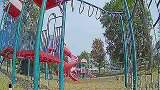 Gaps at the Park 92420 with an fpv drone