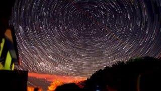 Amazing Startrail Timelpase | NikonD5200