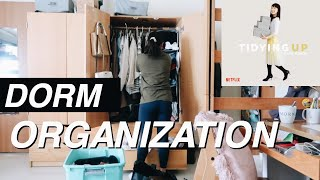 DORM ORGANIZATION | Lessons From Marie Kondo