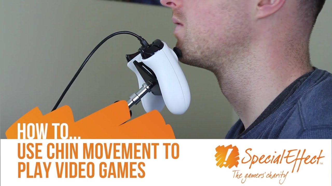 video placeholder for How to Use Chin Movement to Play Video Games