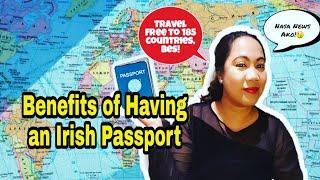 Filipino Nurse in Ireland: Benefits of Having an Irish Passports #buhayOFW