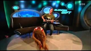 Oops Upskirt!!! Barbara Schöneberger At Tv Show Blondes Gift