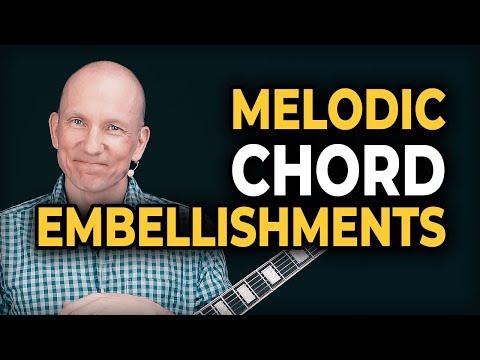 Melodic Chord Embellishing : E major - E minor