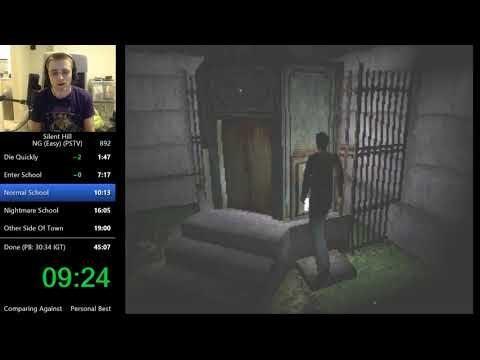 Silent Hill 1 Any% Speedrun in 30:28