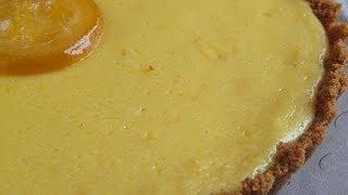 Receta facil de la Tarta de limón (refrescante y ácida)