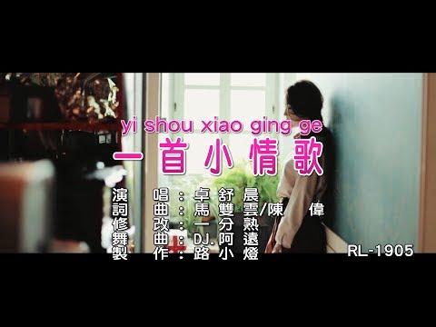卓舒晨   一首小情歌   (DJ修改版)   (1080P)KTV
