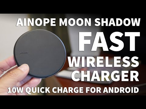Ainope Fast Wireless Phone Charger for iPhone and Android – Fast Wireless Qi Charger 7.5W and 10W