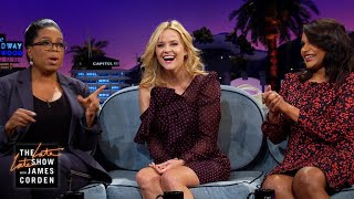 Mindy Kaling, Reese Witherspoon & Oprahs Impressions Of Each Other