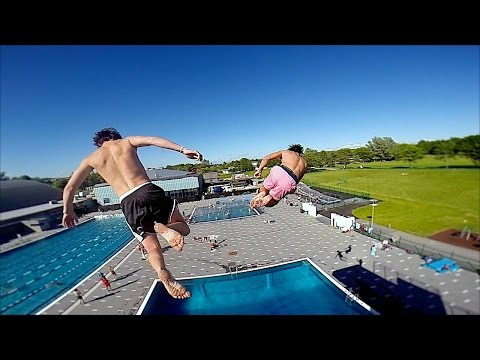 Slow Motion Diving | GoPro Hero 3+ Black Edition