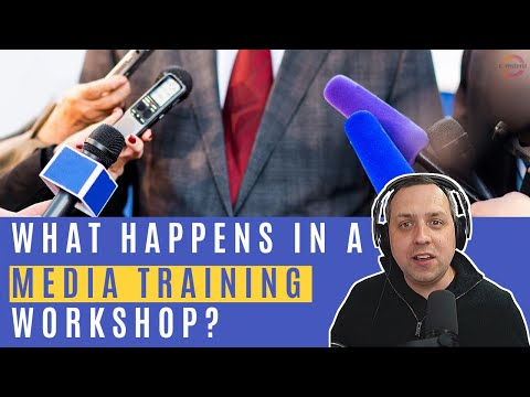 What Happens In A Media Relations Training Session? - YouTube