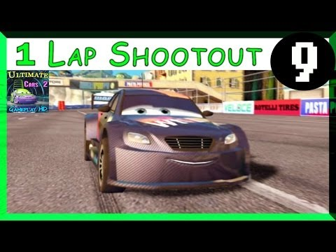 Max Schnell Cars 2 PS3 One Lap Shootout Hard Difficulty On Mountain Run Part 9