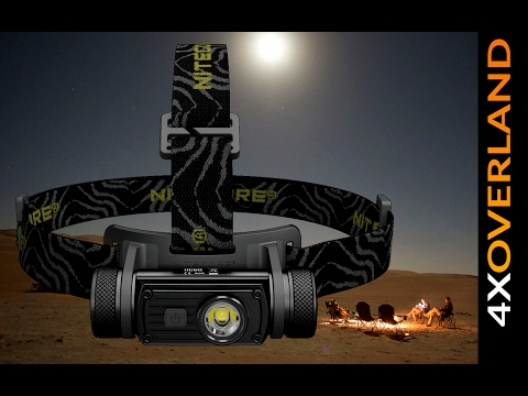 Nitecore HC60 Headlamp review. 4xOverland
