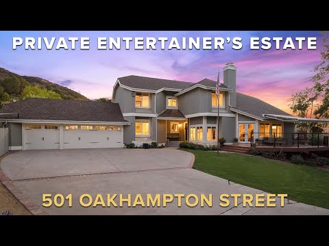 Todd Riccio Real Estate Team Presents: 501 Oakhampton St. Thousand Oaks | Offered At $1,749,900