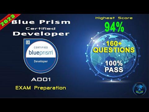 Blue Prism AD01 | Blue Prism Certified Developer - Real Questions ...