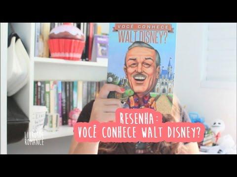 Resenha: Você conhece Walt Disney?