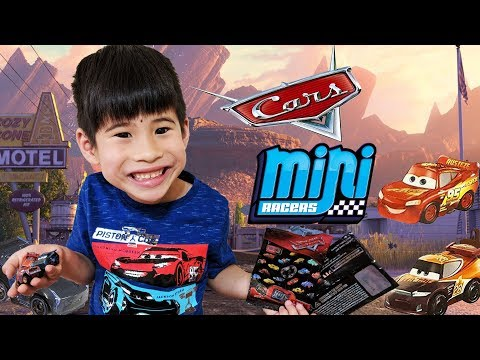 Disney Cars Mini Racers Blind Bags - Trying To Use Codes | Jackson Storm, Tim Treadless
