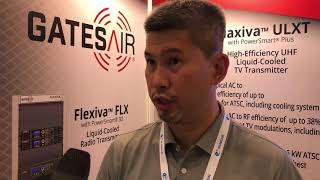Alex Ng of GatesAir at ABU DBS 2018