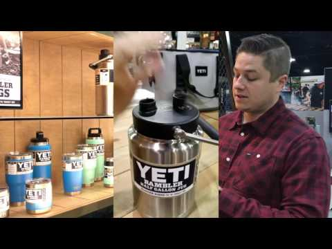 Yeti Rambler Jug Stainless Steel Cup Thermos Review