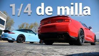 M4 VS Giulia VS Model S y más luchan en los arrancones | Autocosmos