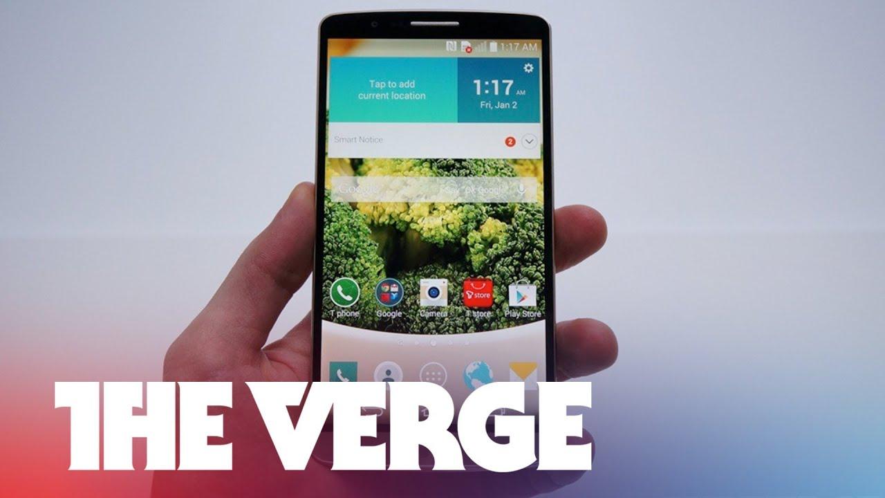LG G3 hands-on thumbnail